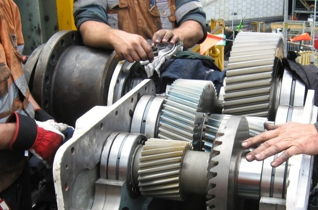 Radicon replace 30 year old obsolete gearbox