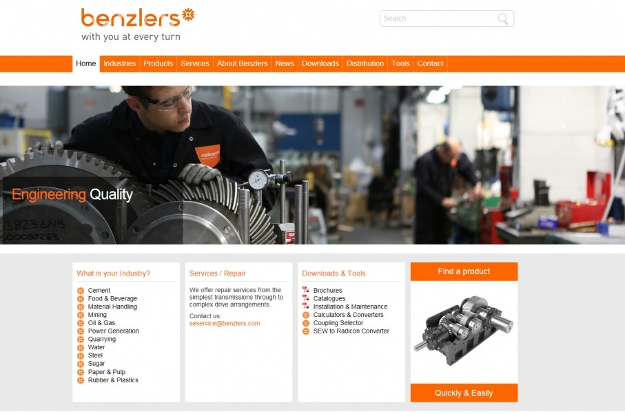 Radicon and Benzlers launch new websites
