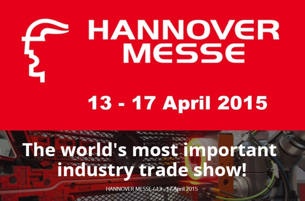 Hannover Messe, 13-17 April 2015
