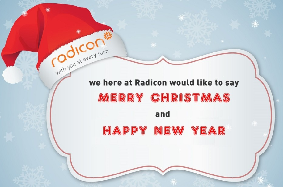 Merry Christmas from Radicon