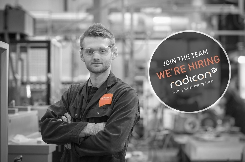 Radicon are hiring